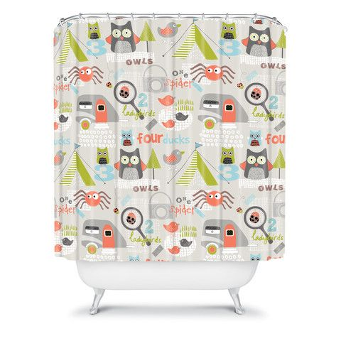 Wendy Kendall Mini Camper Shower Curtain Curtains Shower Curtain Rosenberry Rooms