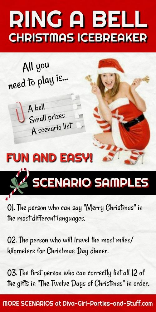 christmas party game idea