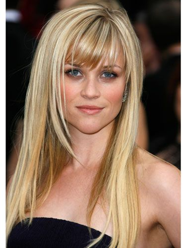 The Best Celebrity Bangs Of All Time Reese Witherspoon Hair Hairstyles With Bangs Haircuts With Bangs