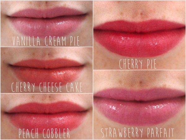 Nyx Cherry Cheesecake Swatches: Nyx B...