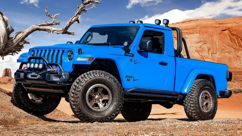 Jeep J6 Pickup Truck Concept Should Be Offered As A Kit Easter Jeep Safari Jeep Gladiator Jeep Pickup