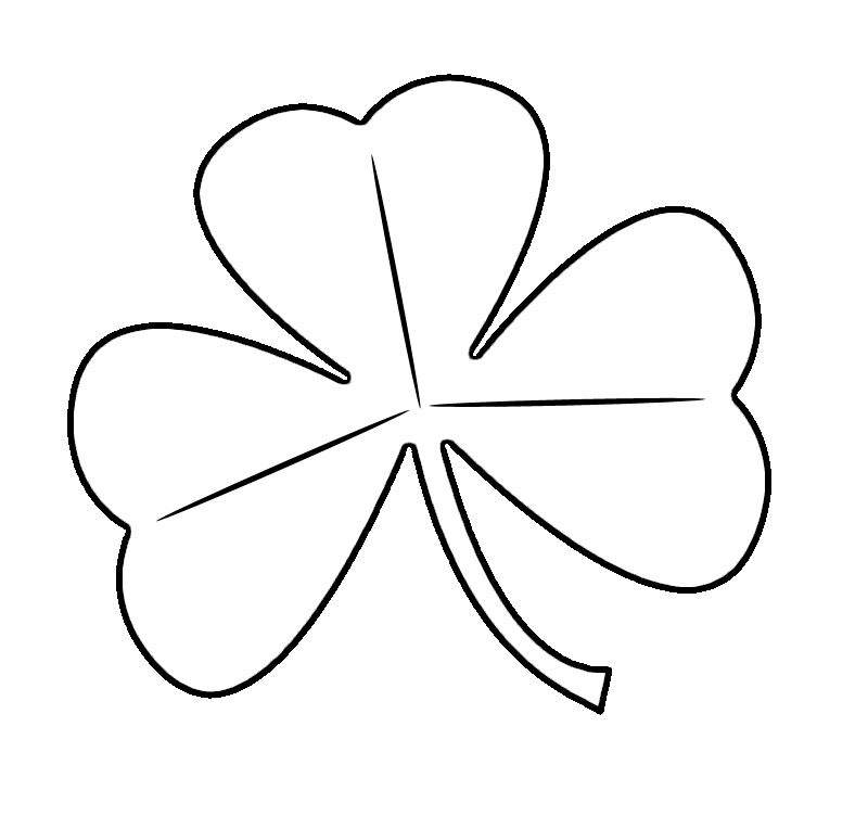 Free St Patrick S Day Shamrocks Clip Art Images Coloring Pages St Patricks Day Clipart Coloring Pages For Kids