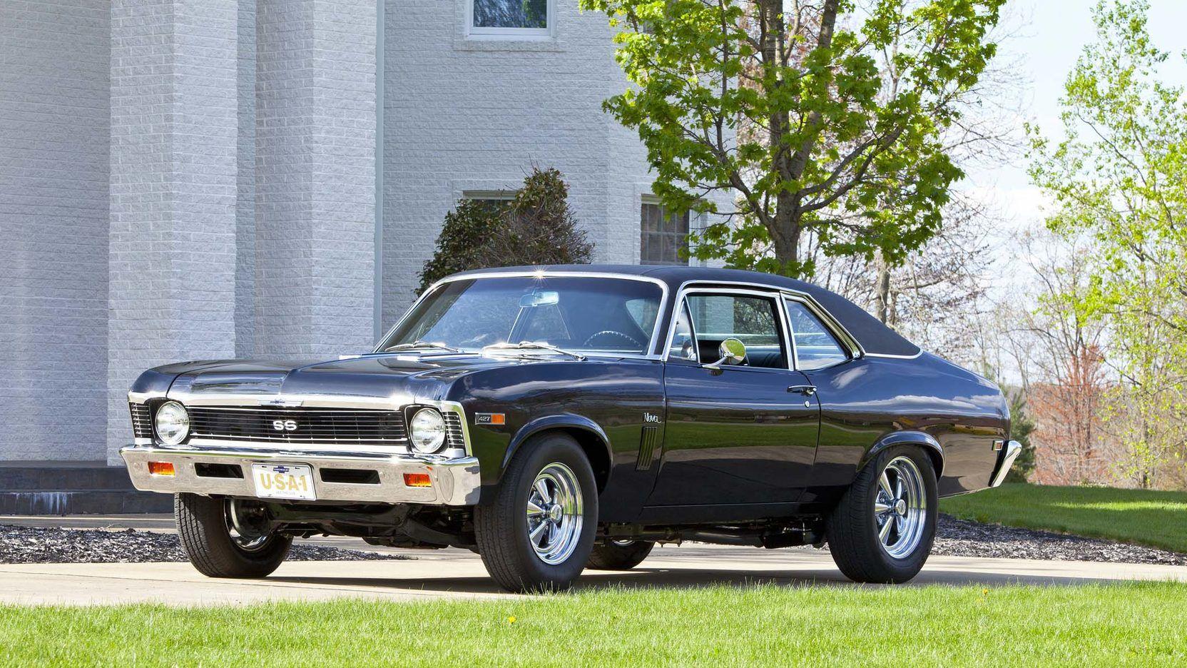 1969 Chevrolet Nova Custom Barrett Jackson Auction Company