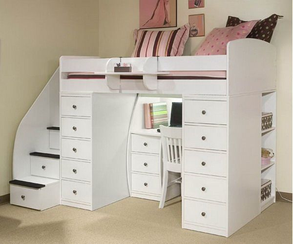 Awesome Built In Bunk Beds Ideas To Make An Enjoyable Bedroom