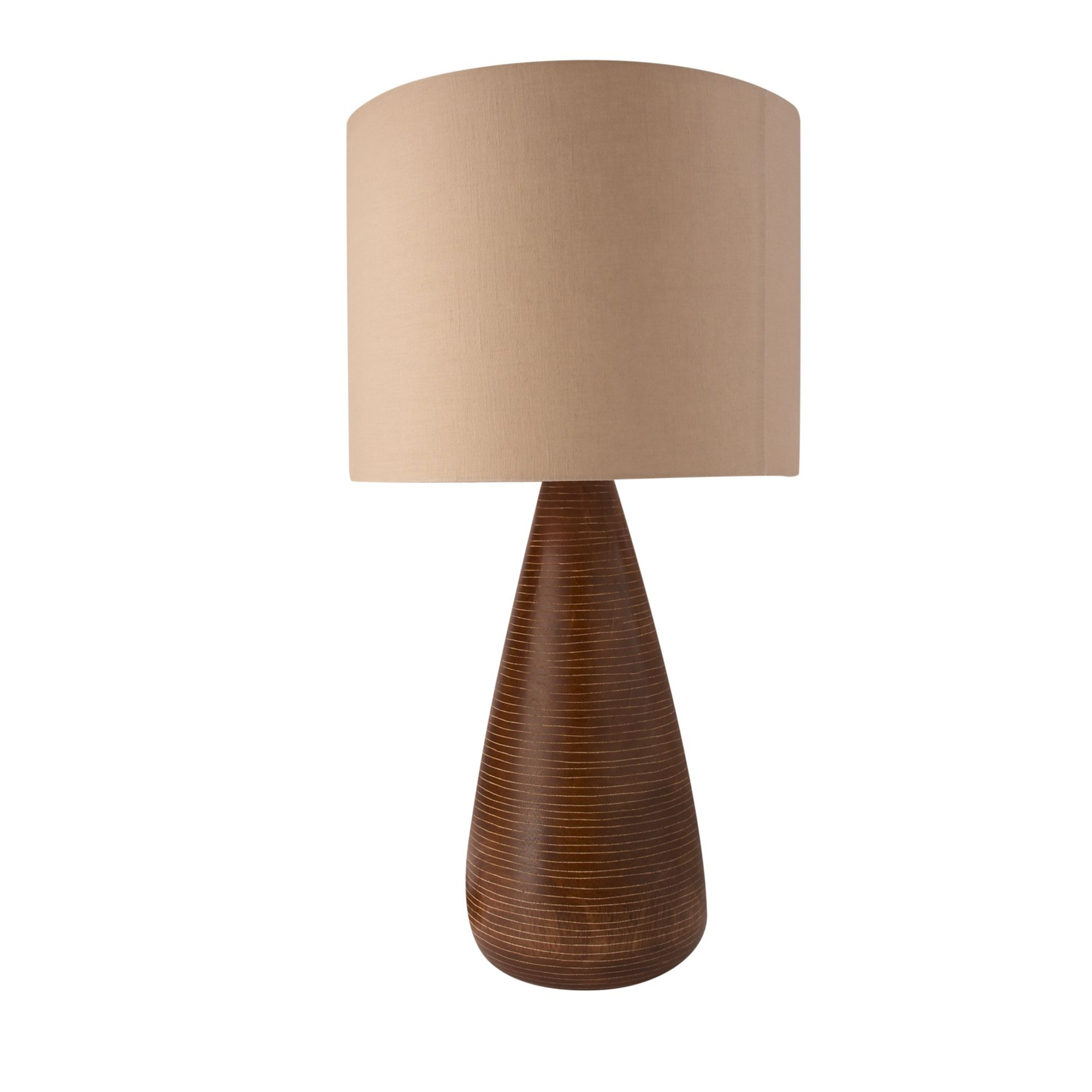 Attrayant Linea Brew Dark Mango Wood Table Lamp