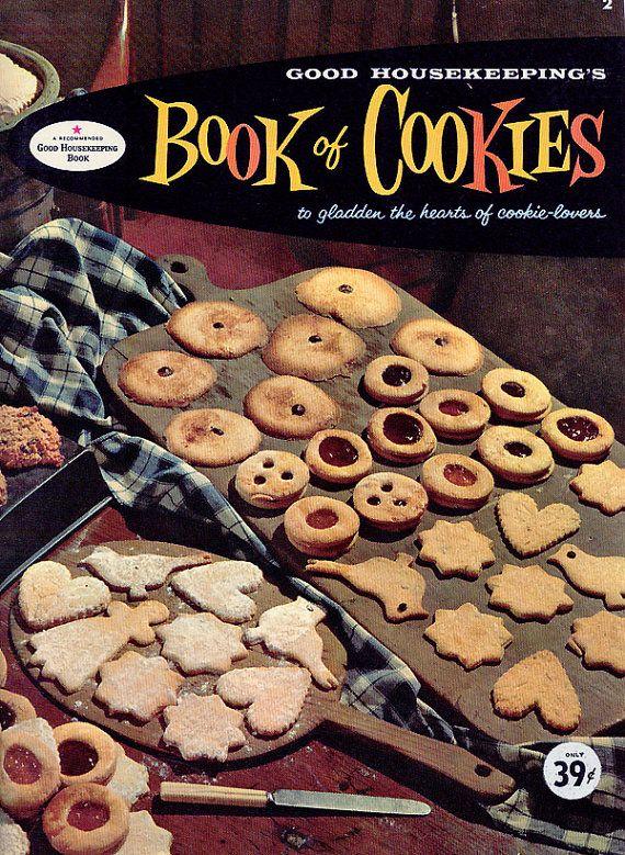 Good housekeeping cookbook book of cookies vintage 1950s christmas good housekeeping cookbook book of cookies by cookbookmaven forumfinder Images