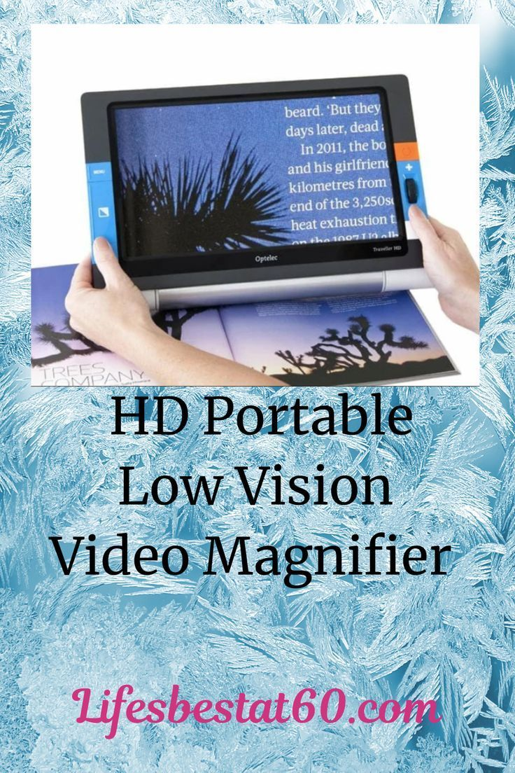 HD Portable Low Vision Video Magnifier with Large 13.3 Inch Screen - Perfect For Your Seniors