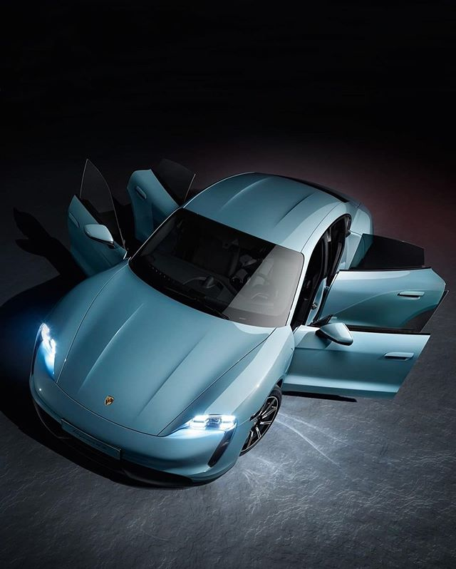 Porsche Electric Sports Car: @porsche Introduces The Latest Member To The Taycan Family