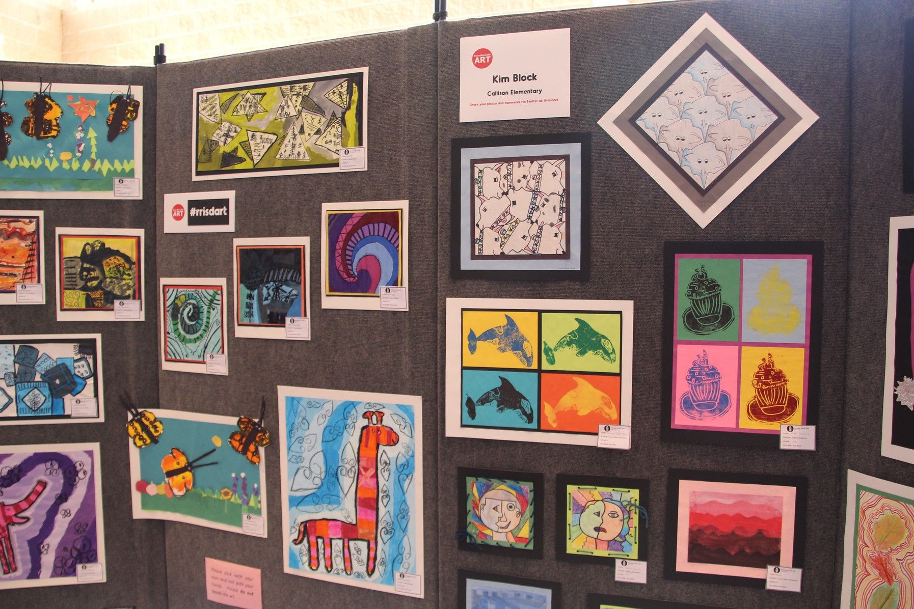 Image result for round rock isd Elementary Art Exhibition