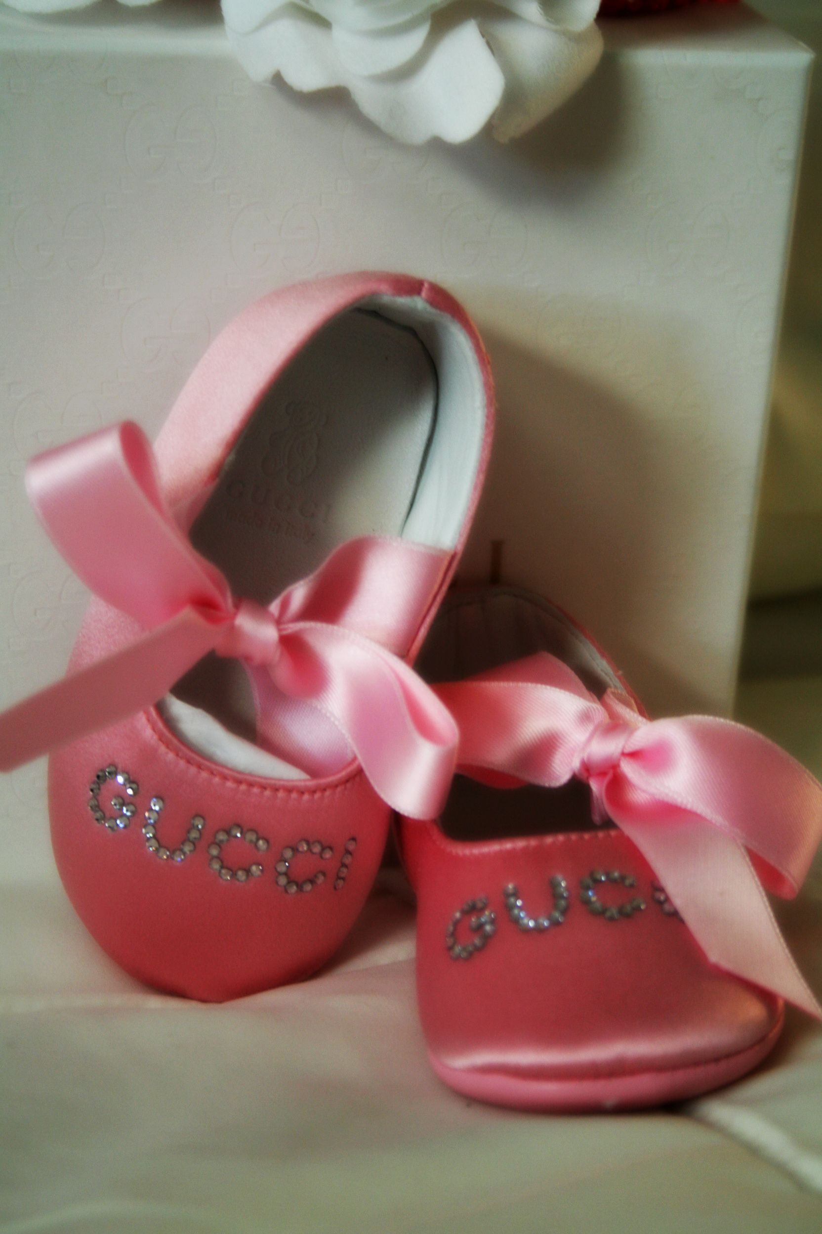 Baby Gucci ballet slippers dont let paul see these or he will