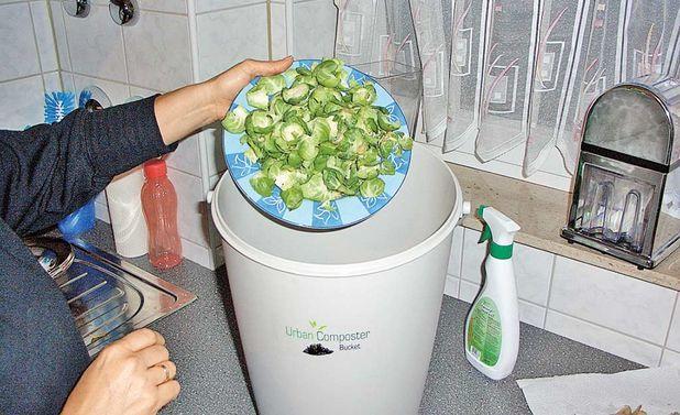 Bokashi - komposteimer für die küche
