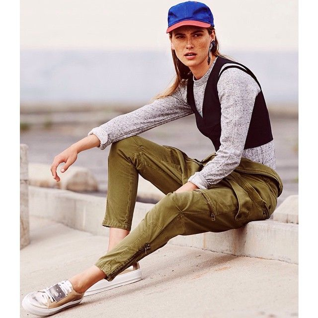 Opt For Unexpected Layers To Elevate An Off-duty Ensemble #tapforcredits By Shopbop