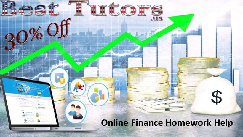Order finance homework