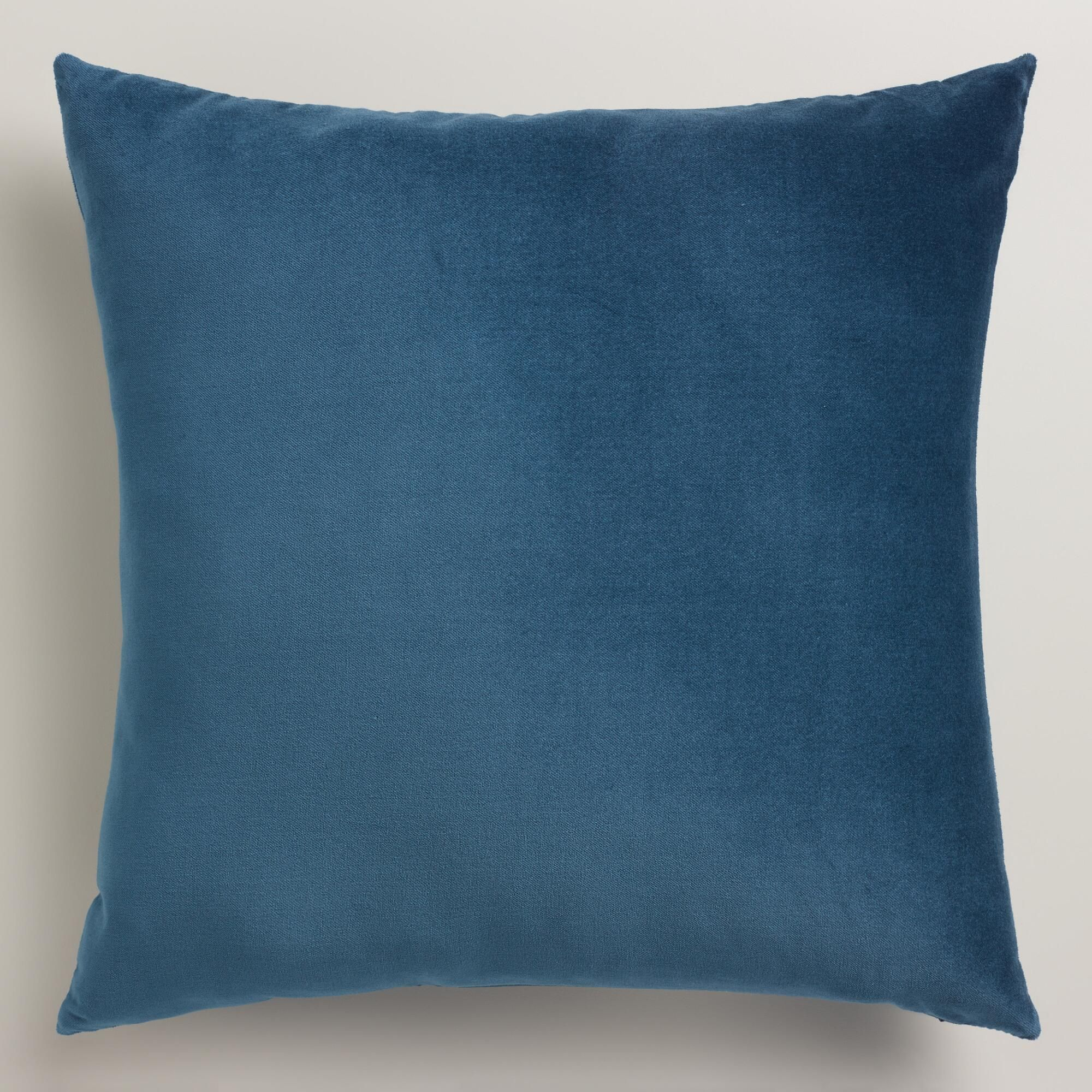throw blue x pin textured accent decorative pillow decor sofa pillows cover cotton home