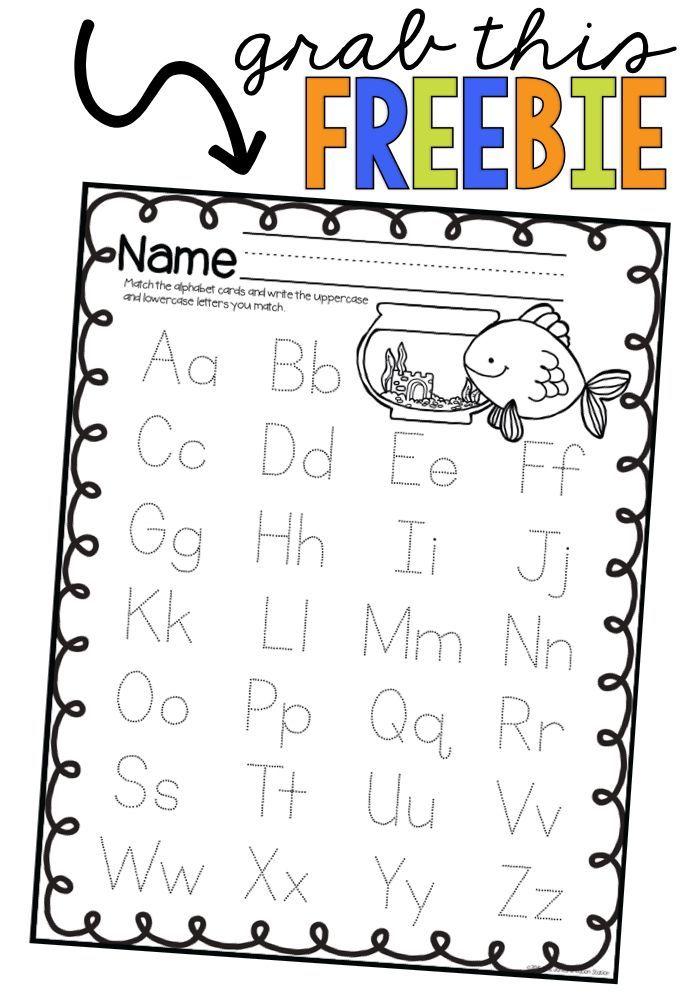 mrsjones creation station alphabet letter identification