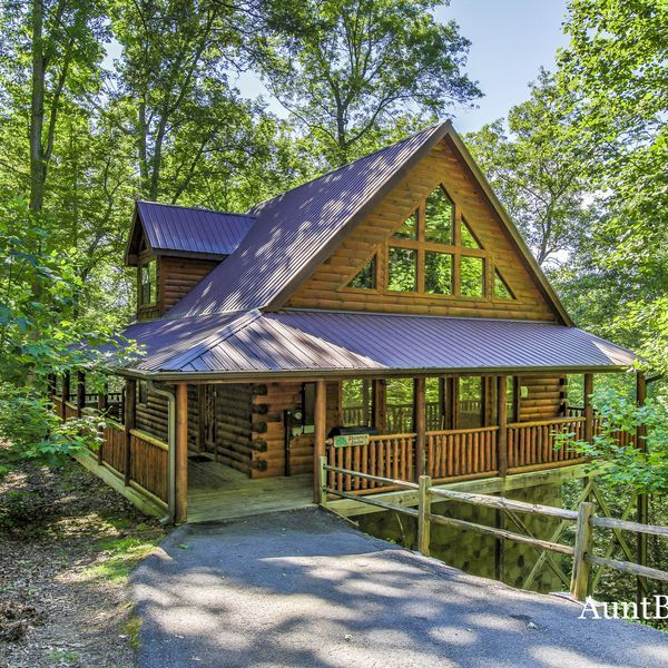 Vacation Cabin in Pigeon Cabin rentals in