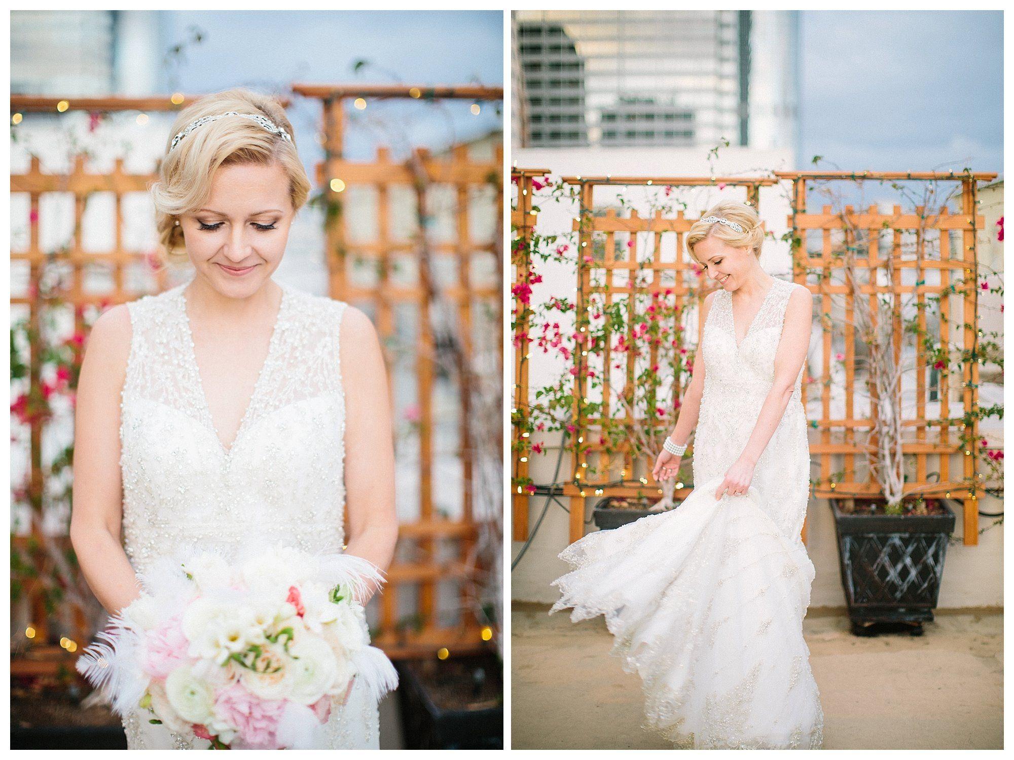 Great gatsby inspired bridesmaid dresses  Maren Swansonus Great GatsbyInspired Wedding at The Oviatt