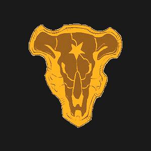 Black Bull Touro Preto Engracado
