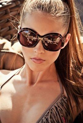 a42b09de4 AMEI OS OCULOS E O RABO DE CAVALO ! | Looks Ousados | Óculos de sol ...