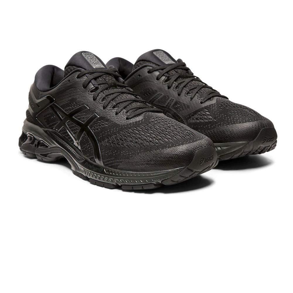 Asics Men S Gel Kayano 26 Running Shoes Running Shoes Asics Black Running Shoes
