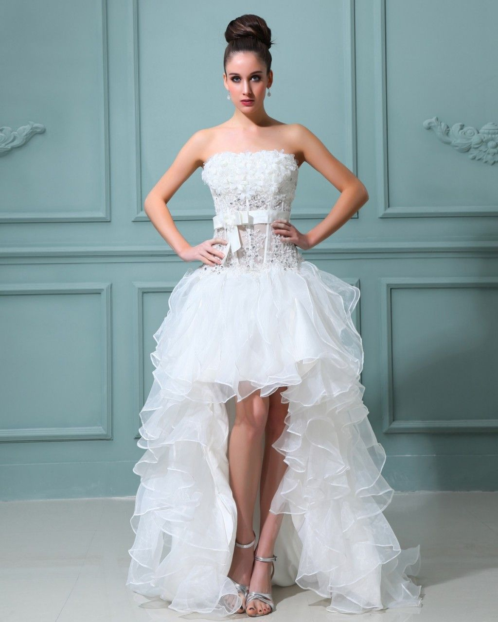 beautiful-strapless-wedding-dress | Straplees Wedding Dress ...