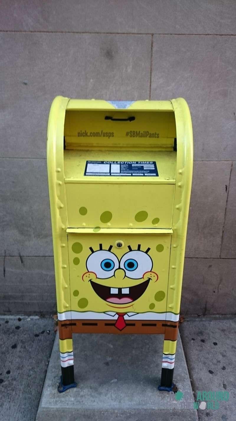 SpongeBob Schwammkopf Briefkasten in Dallas, Texas | USA ...