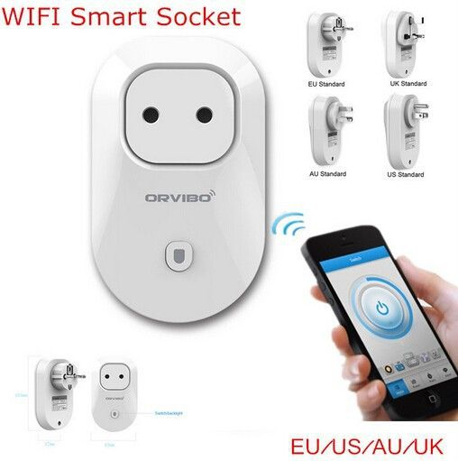 Smart Socket EU US UK AU Socket with Remote Control by Mobile Plug WiFi Livolo Smart Home for IOS Android