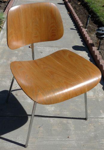 Herman Miller Eames Dcm 1952 1953 Original Parts Beautiful Patina Vintage Chair Mid Century Chair Mid Century Furniture Vintage Eames