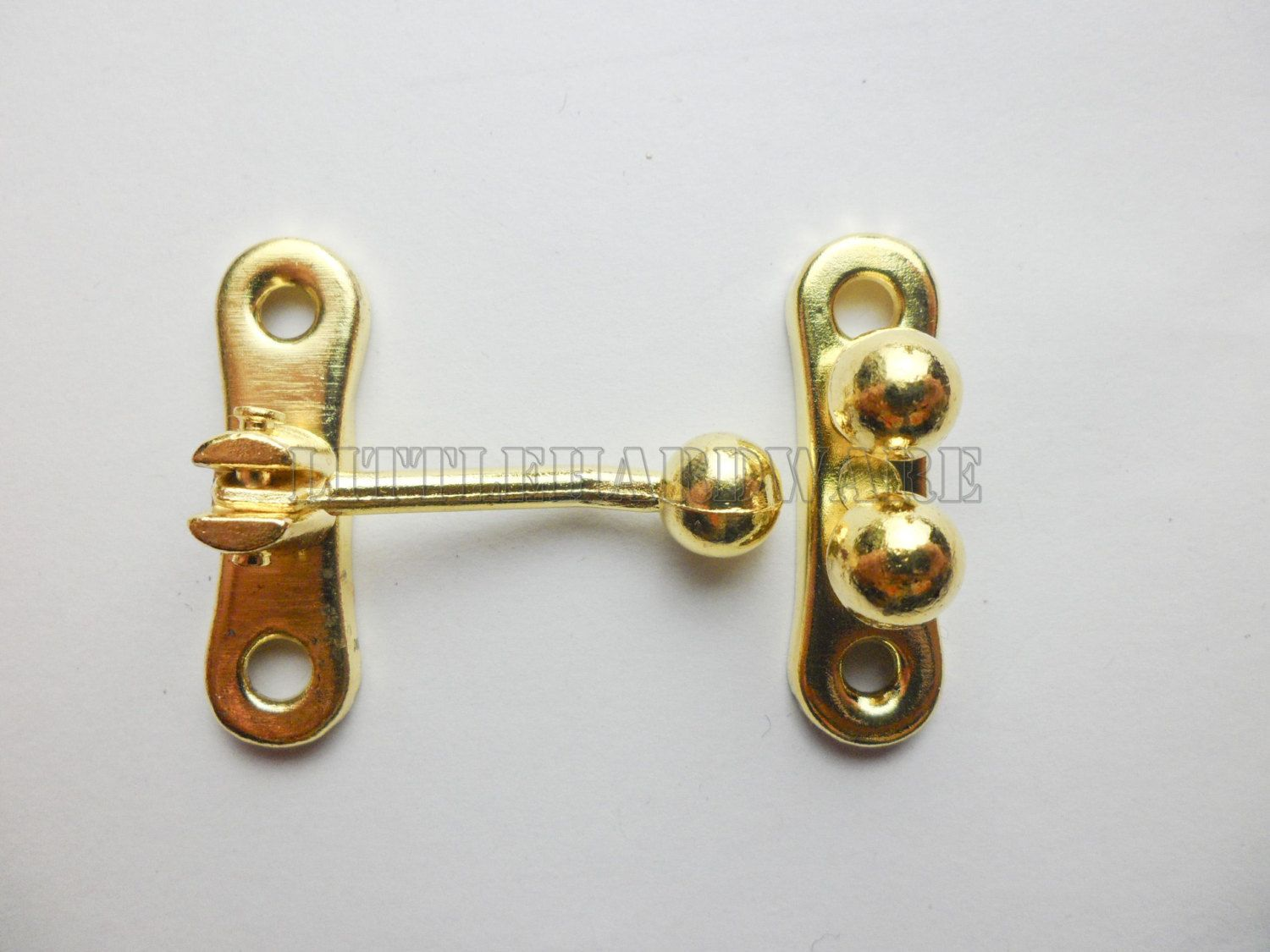 Wholesale Golden Ball Hasp Box Hardware Jewelry Box Latch Gift Boxes Latches Chest Hardware For Wooden Boxes Making Hardware Jewelry Jewelry Box Wooden Boxes