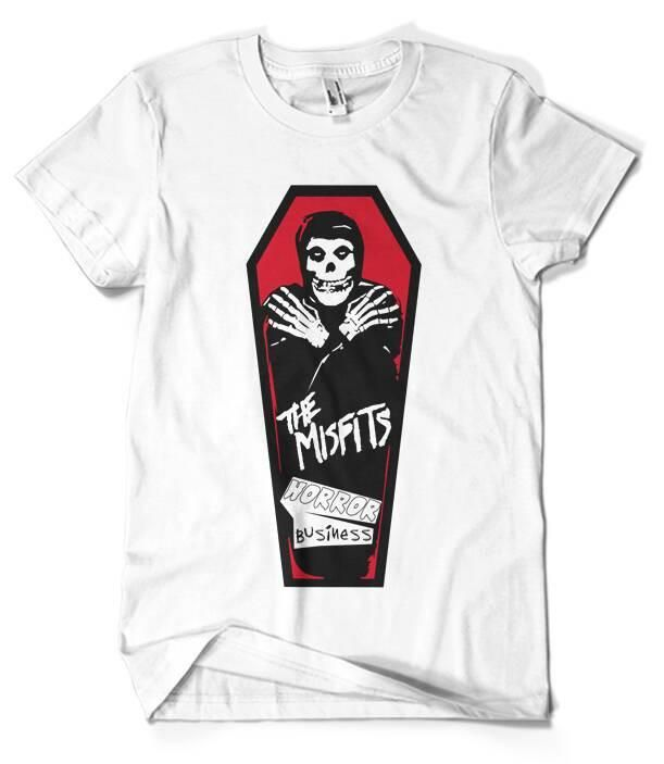 38eb1701c Misfits T-Shirt Merch official licensed music t-shirt. New States Apparel  Unisex SoftStyle S, M, L, XL. Shop at Musico clothing online store.