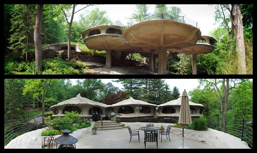 Eclectitude: Mushroom House - James Johnson, Architect