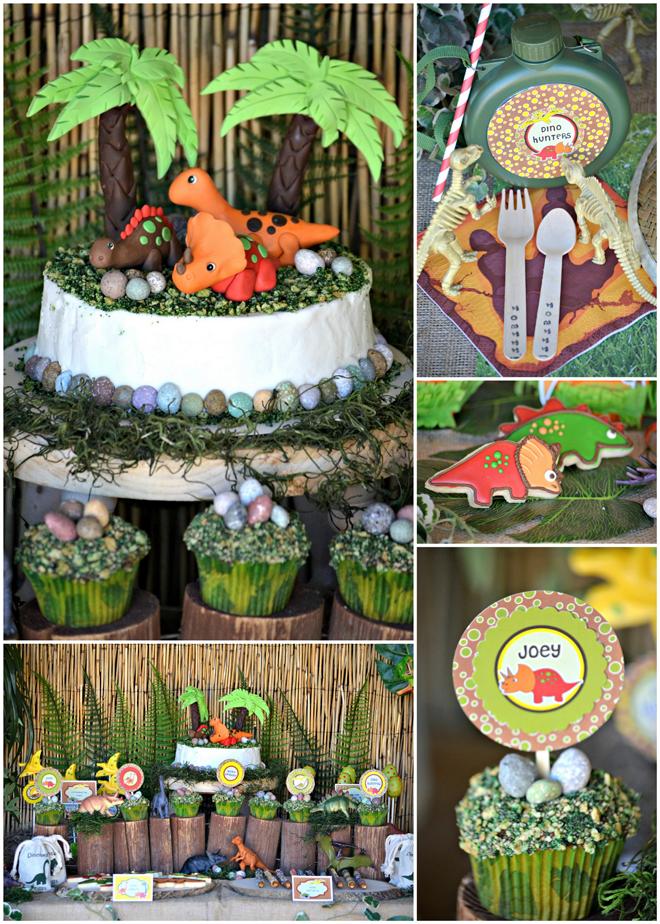 A Dynamite Dinosaur Birthday Party Dinosaur birthday party and