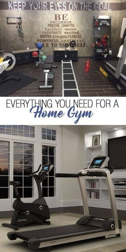 Fitness Room Ideas Home Gyms Basements 30+ Super Ideas #fitness #home