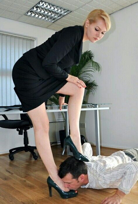 Foot Worship The Office