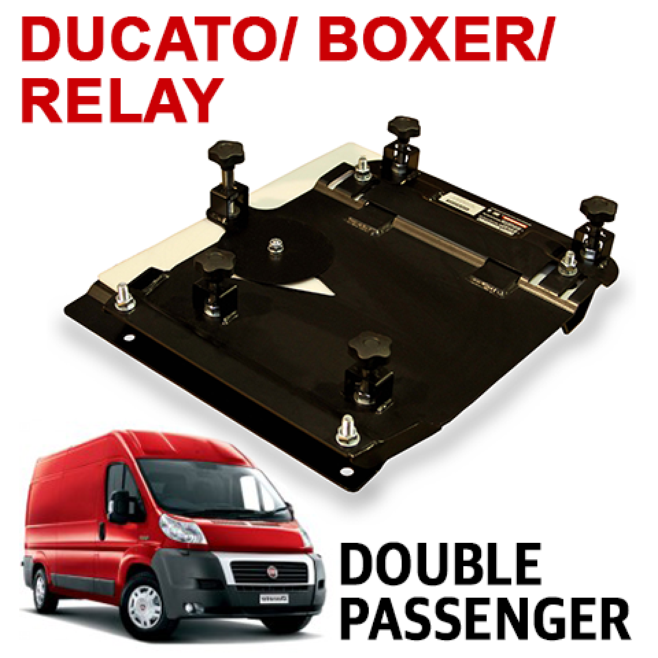Ducato Boxer Relay Double Seat Swivel Uk Right Hand Drive Model  # Muebles Para Peugeot Boxer
