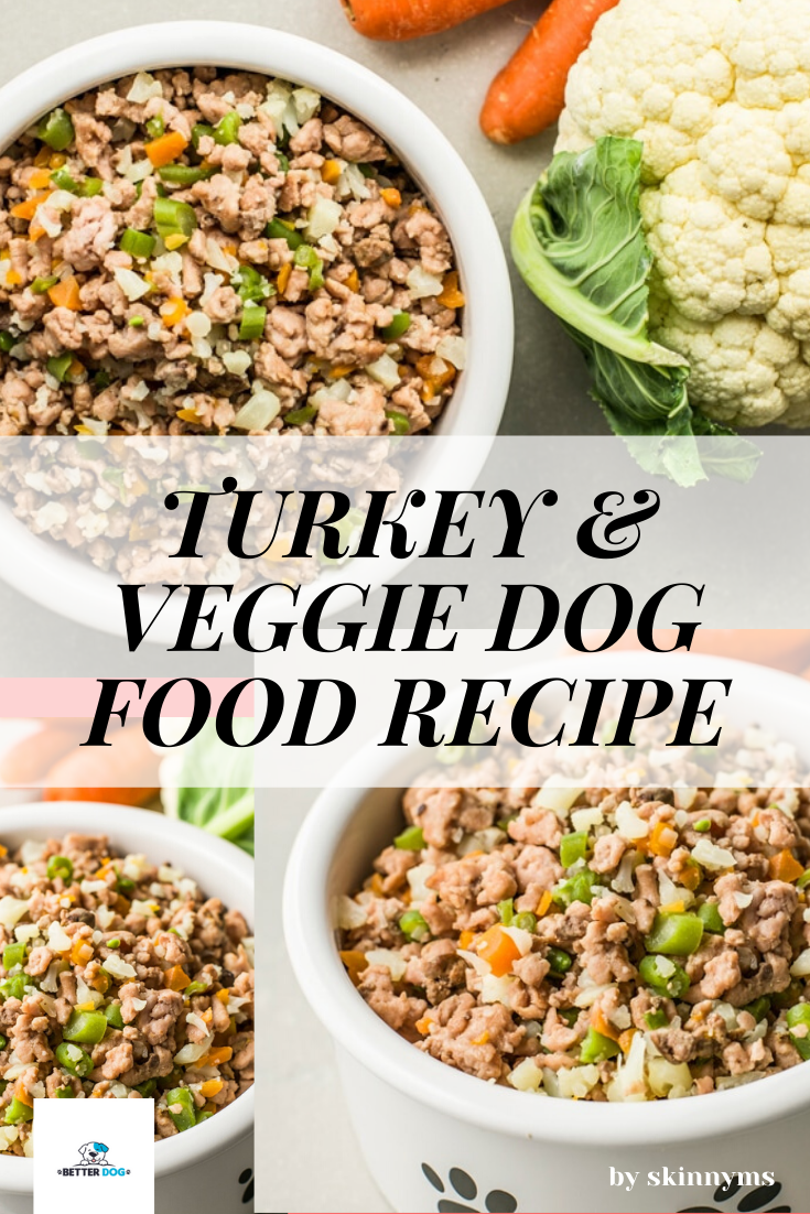9 Easy To Make Homemade Dog Food Recipes Better Dog In 2020 Turkey Dog Food Recipe Healthy Dog Food Recipes Ground Beef Dog Food Recipe