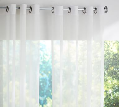 Outdoor Sheer Grommet Curtain Drapes Grommet Outdoor Drapes