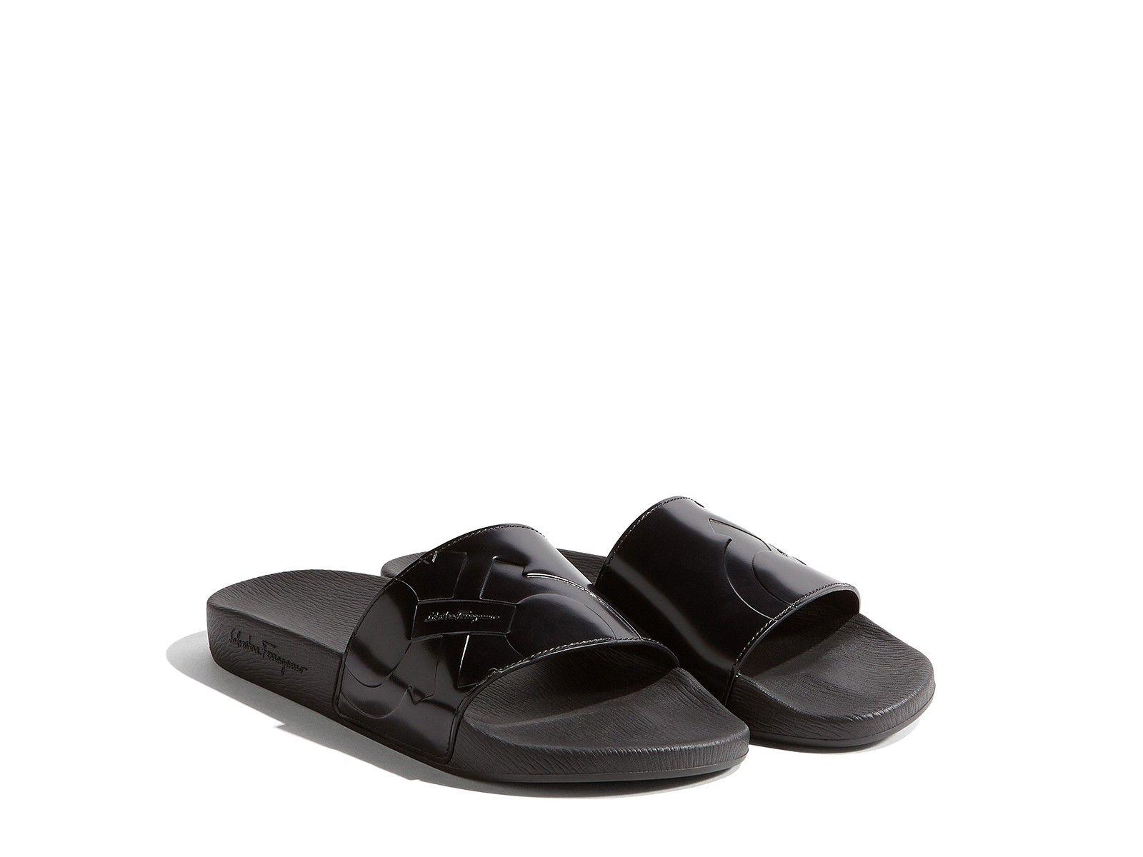 9a080d2bf54f SALVATORE FERRAGAMO Gancio Pool Slide Shoes.  salvatoreferragamo  shoes