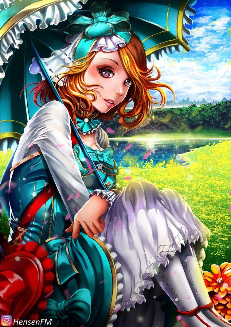 Kagura Mobile Legends Hensenfm By Hensenfm Deviantart Com On Deviantart Arts Mobile