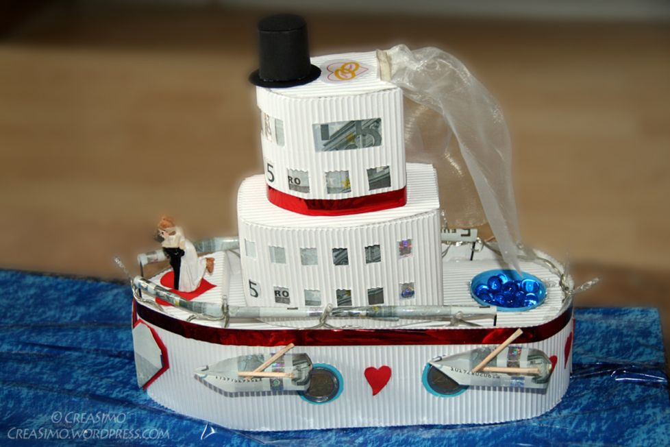 Kreuzfahrt ins Glck  oder Geldgeschenk zur Hochzeit
