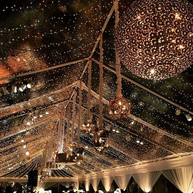 Clear Tent With Fairy Lights Beautiful Revelryeventdesign Beach Wedding Lanterns Clear Tent Tent Wedding
