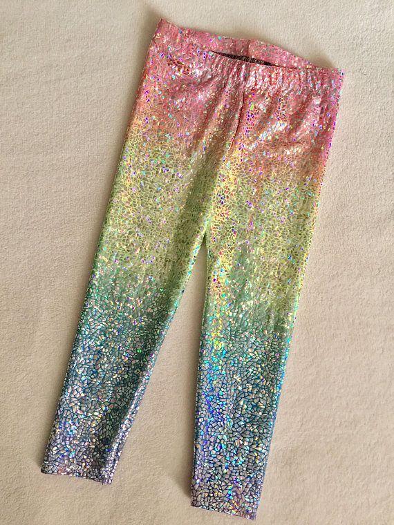 a98ee40f66b91 Unicorn leggings! Soft, stretchy & comfy! Stretchy Spandex & Elastic  waistband. Hand