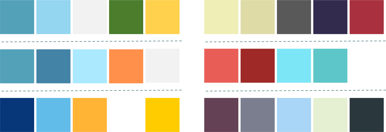 color scheme for office. Screenshot Of Microsoft PowerPoint Color Scheme For Office