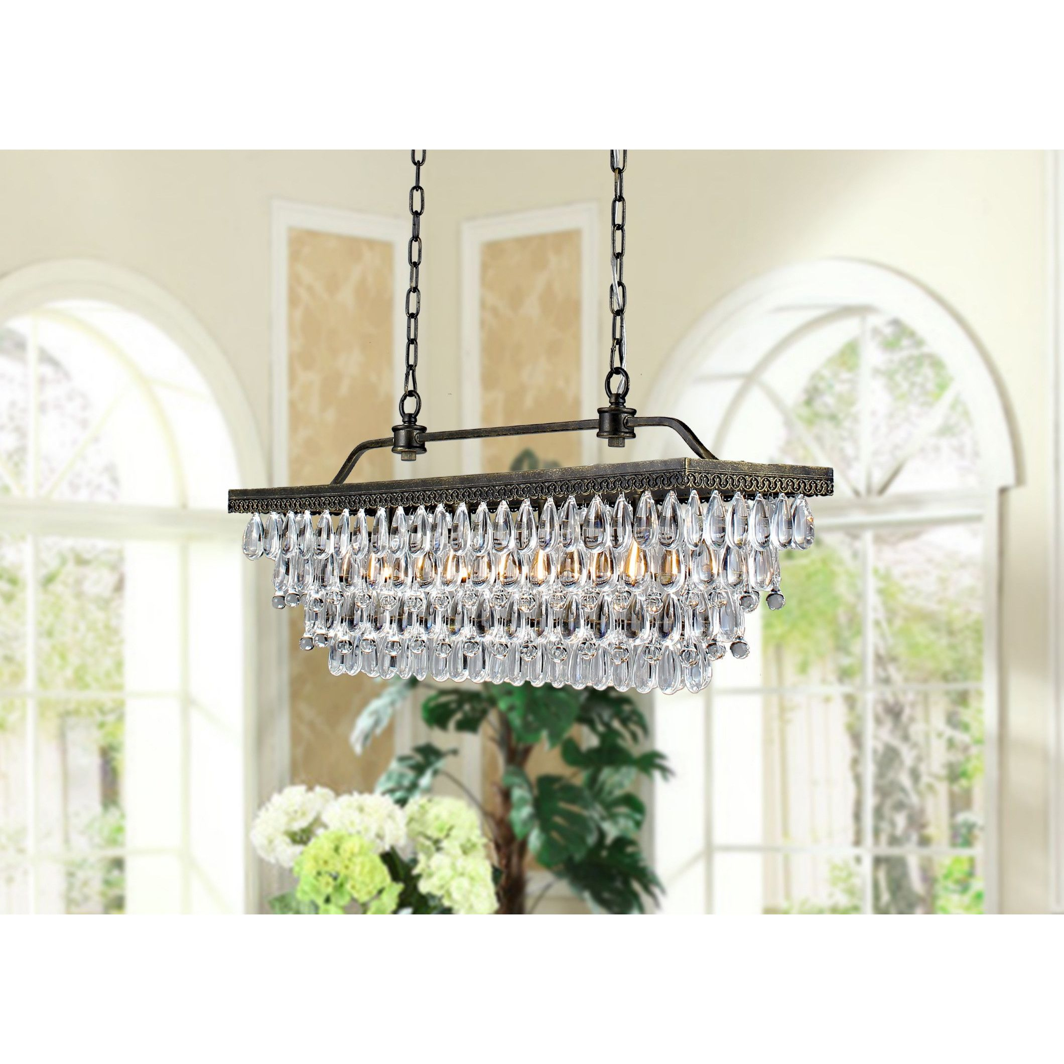 Wellyer Hemera 4 Light Crystal Chandelier & Reviews