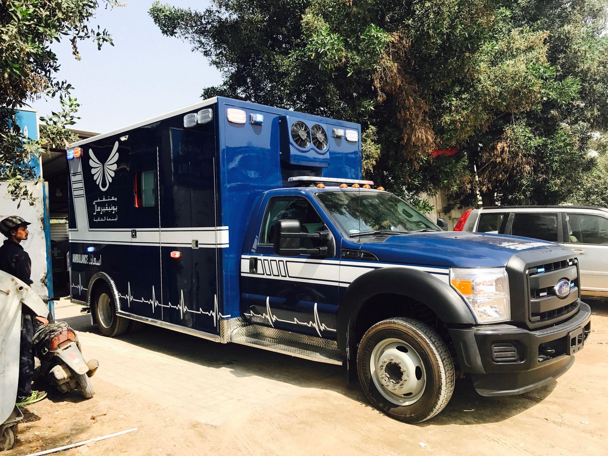 Ford Super Duty F350 450 550 Ambulance Standard Vehicle
