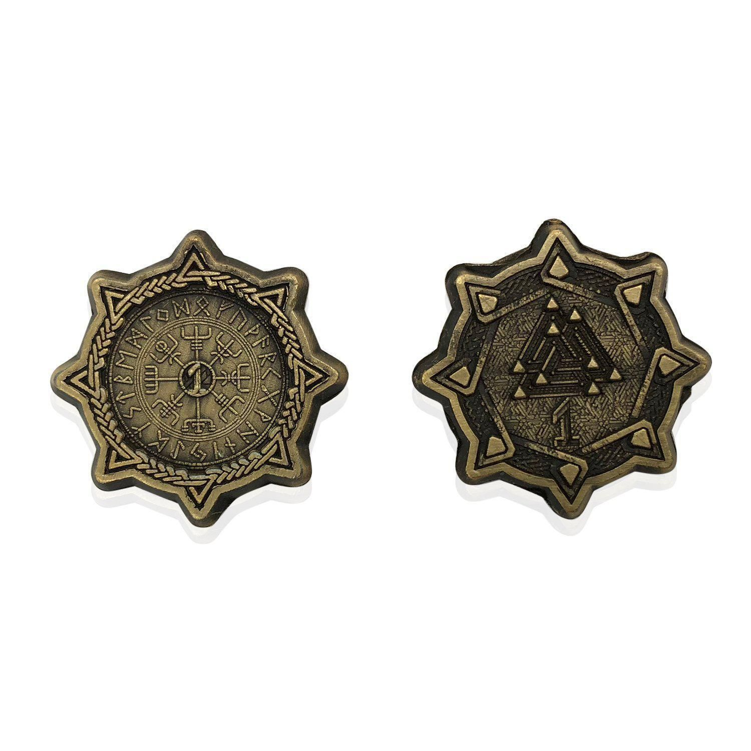 Pin On Adventure Coins Metal Roleplaying Tabletop Coins See our 2020 brand rating for norse foundry and analysis of 62 norse foundry reviews for 10 products in toys & games and role playing dice. pinterest