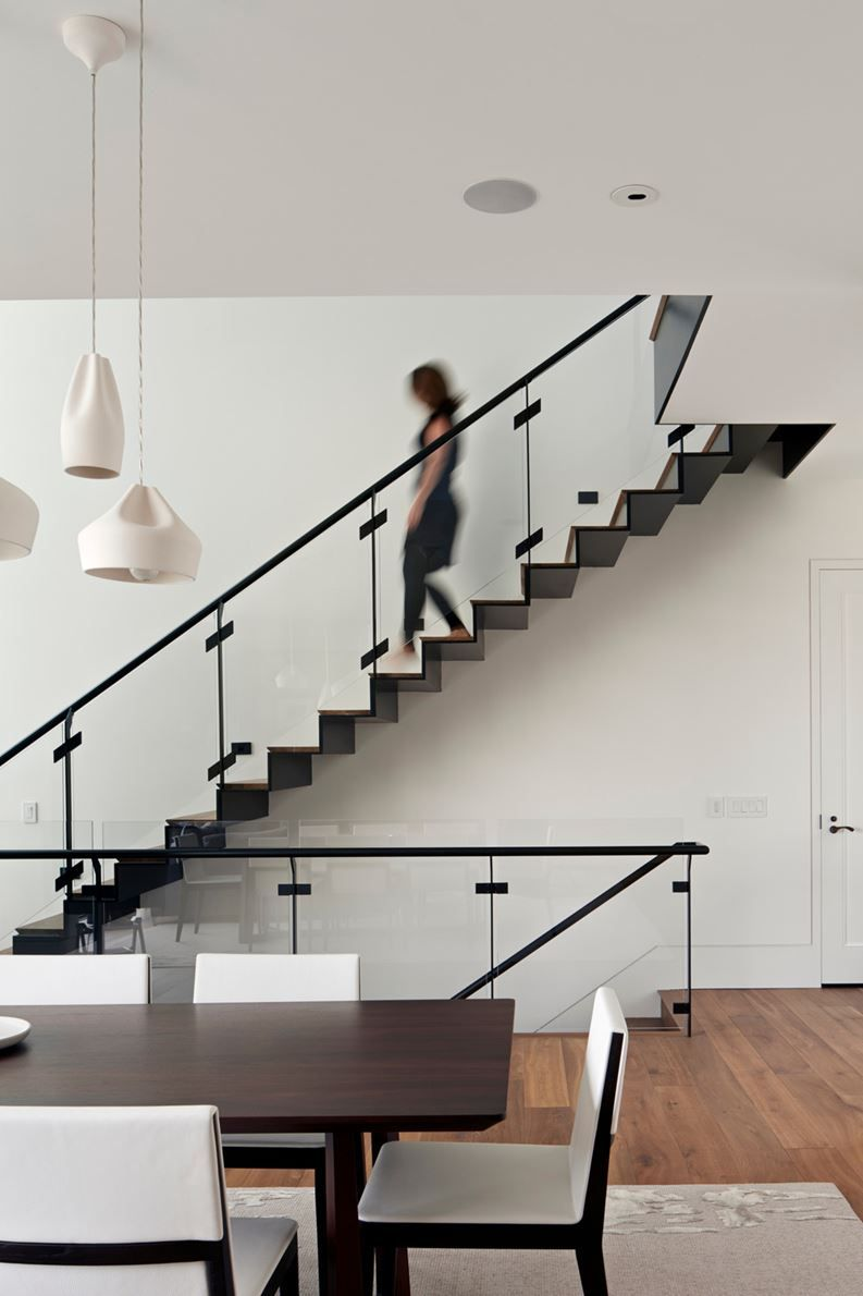 Home interior design staircase noe residence  picture gallery architecture interiordesign