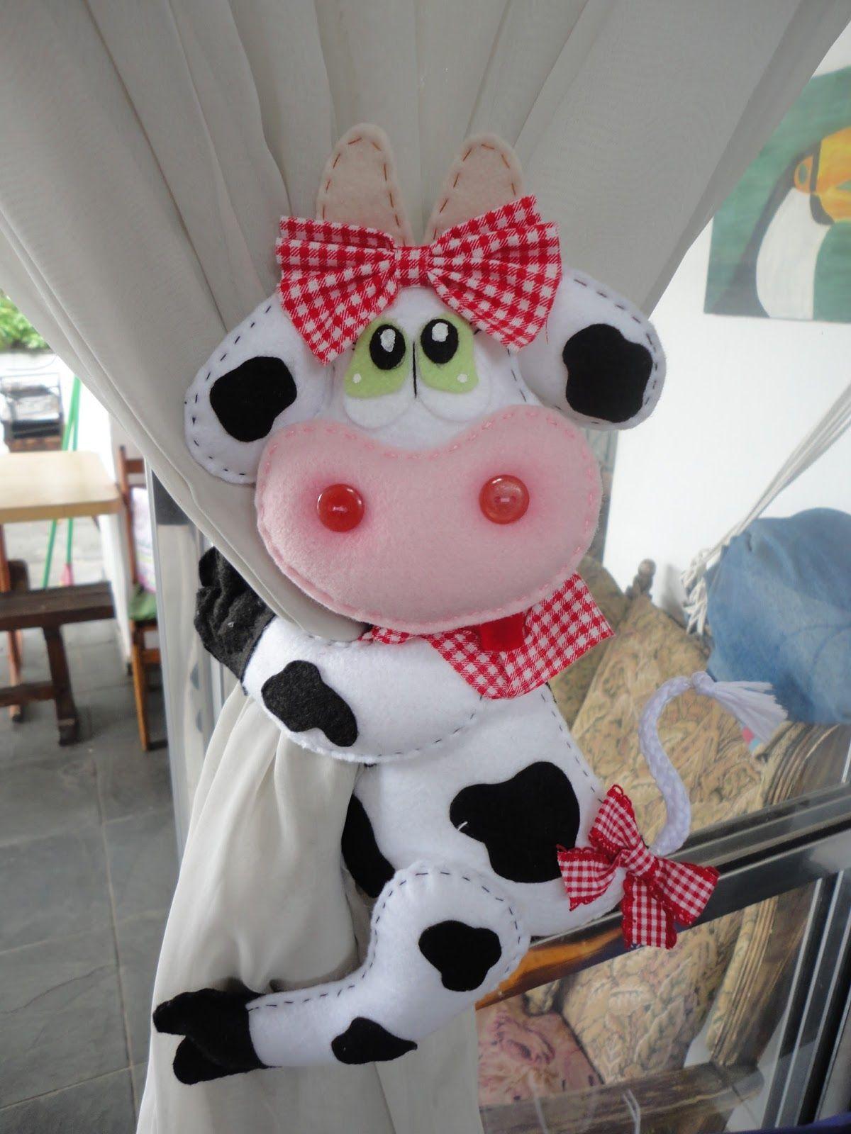 Fofa Sewing Pinterest Cortinas Vaca E Pano