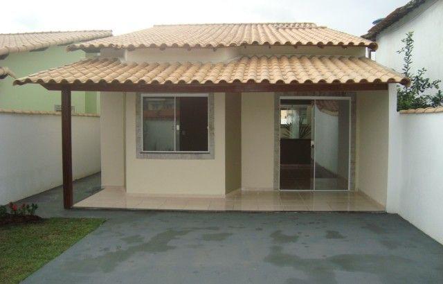 Casa linear fachada casa simples e pequena pinterest for Fachadas de casas modernas em belo horizonte