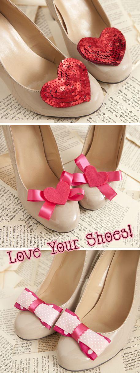 Love Your Shoes! Shoe Clips TUTORIAL / DIY